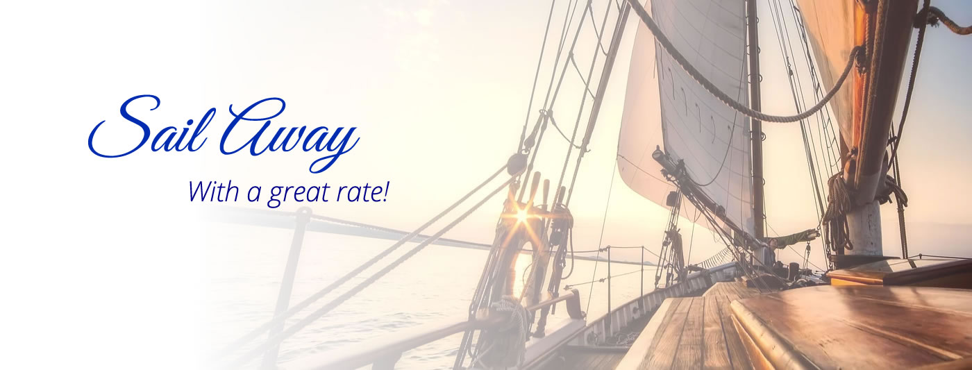 Call us for Boat Loan Rates